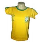 Camisa Brasil Babylook