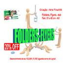 Folders | Flyers Criação - 4x0 20% OFF