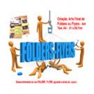 Folders | Flyers Criação -4x4