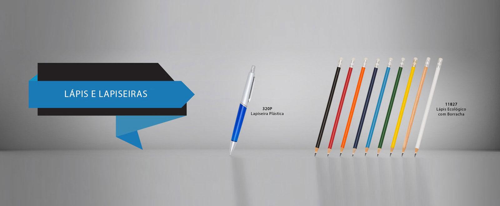 Lápis e Canetas Personalizados com sua Marca