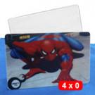 cartões de pvc - 4x0