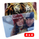 Cartões PVC 4x4